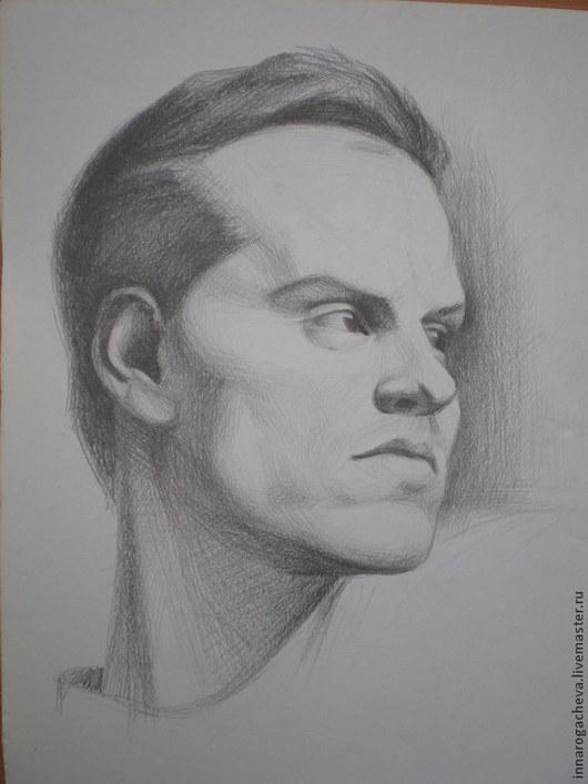 Люди, ручной работы. Ярмарка Мастеров - ручная работа. Купить Портрет по фото, портрет на заказ, портрет карандашом. Handmade.