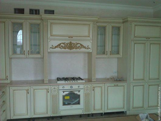 """Мебель ручной работы. Ярмарка Мастеров - ручная работа. Купить Кухня из ясеня """"Венеция"""". Handmade. Белый, массив дерева, Мебель"""