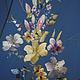 Блузки ручной работы. вышитая шелком заготовка на платье или тунику. валентина (ketmir). Ярмарка Мастеров. Розовый