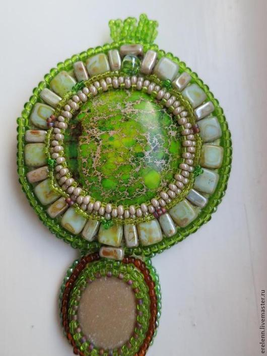 Кулоны, подвески ручной работы. Ярмарка Мастеров - ручная работа. Купить Ключ от Ангкора. Handmade. Ангкор, имитация варисцита, фурнитура