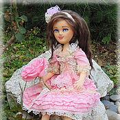 Куклы и игрушки ручной работы. Ярмарка Мастеров - ручная работа Анютка, авторская текстильная кукла, artdoll. Handmade.