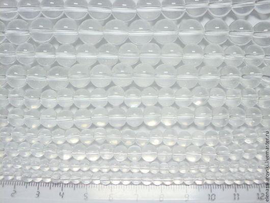 Для украшений ручной работы. Ярмарка Мастеров - ручная работа. Купить Бусины стекло 4,6,8,10,12 мм (под хрусталь).. Handmade.