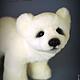 Мишки Тедди ручной работы. Умка... полярный медвежонок. Юлия Козуб (YuliaKozub). Ярмарка Мастеров. Полярный медведь