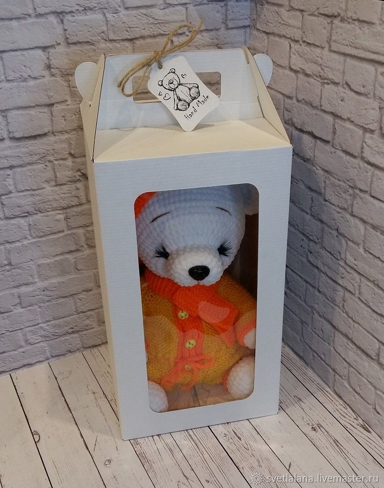 мишка Тима (готовая работа), Мягкие игрушки, Белгород,  Фото №1