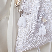 Свадебный салон ручной работы. Ярмарка Мастеров - ручная работа Свадебная сумочка `Irene`. Handmade.
