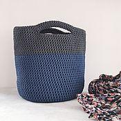 Сумки и аксессуары handmade. Livemaster - original item Knitted bag. shopper. The tote. Handmade.