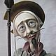 Коллекционные куклы ручной работы. Ярмарка Мастеров - ручная работа. Купить Авторская кукла ручной рабо. Ед.эк.Paperclay. Дон Кихот.. Handmade.