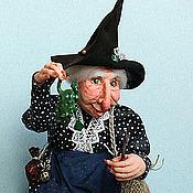 Куклы и игрушки ручной работы. Ярмарка Мастеров - ручная работа Ведьма Гурмания Гррох. Handmade.