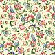 Fabric cotton percale Firebird on cream, W. .220 cm, Fabric, Nizhny Novgorod,  Фото №1