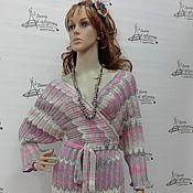 Одежда ручной работы. Ярмарка Мастеров - ручная работа Платье-халат Миссони. Handmade.