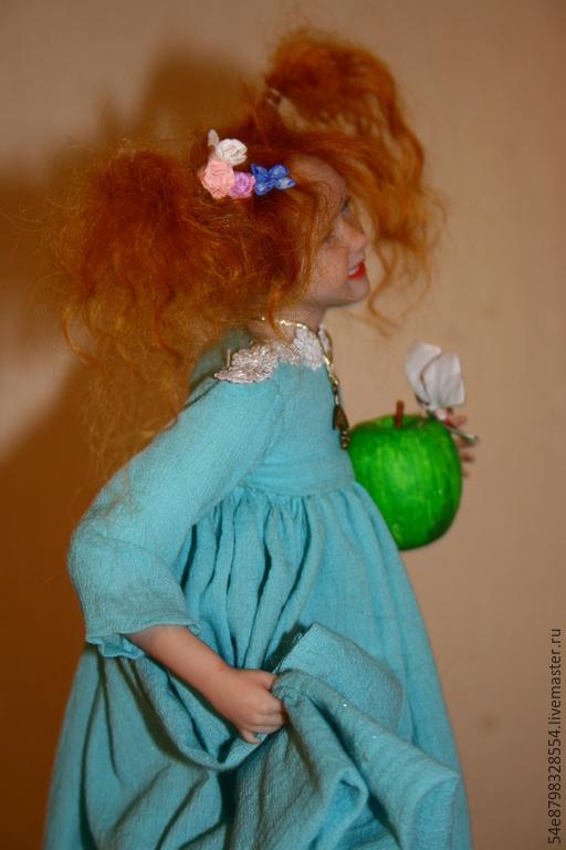 """Коллекционные куклы ручной работы. Ярмарка Мастеров - ручная работа. Купить """"Августа"""". Handmade. Разноцветный, ЛивингДолл"""