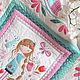 """Пледы и одеяла ручной работы. Ярмарка Мастеров - ручная работа. Купить Детское лоскутное покрывало (одеяло) """"Нежность"""". Handmade. Цветочный"""