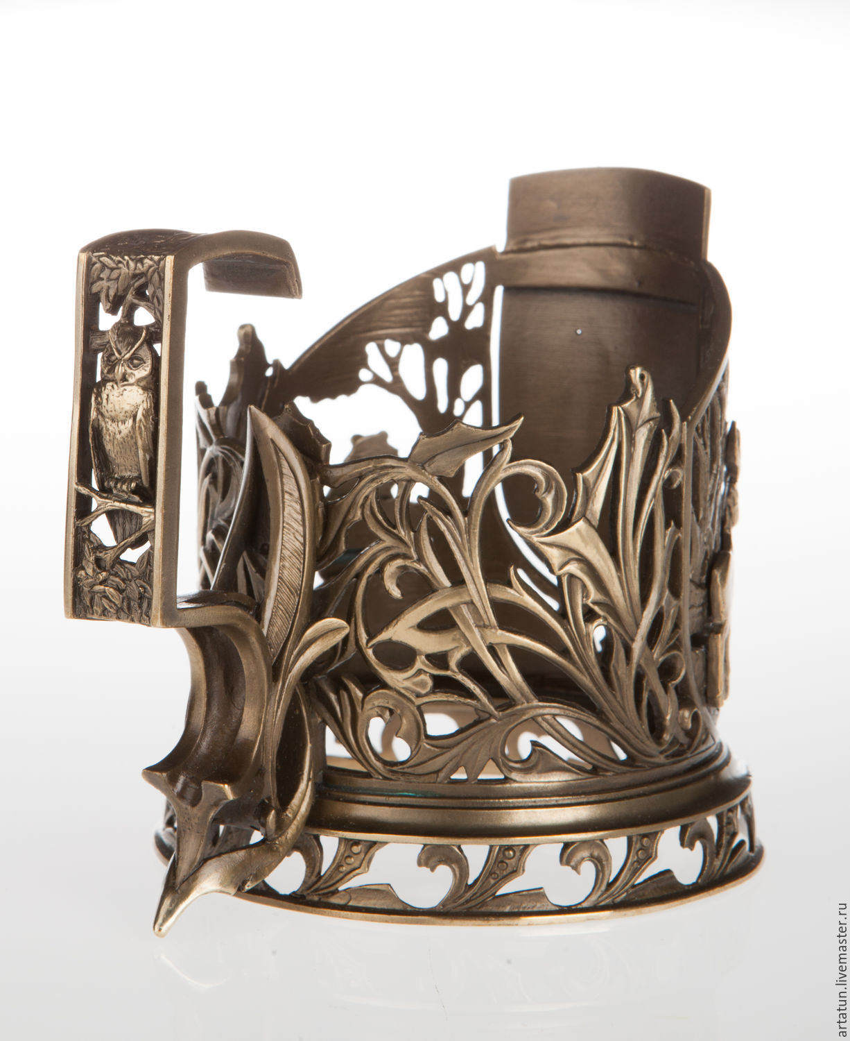 Online shopping on Decorative Tableware handmade. Order Cup holder  hunting . Master Lihman. Livemaster.  sc 1 st  Livemaster & Cup holder