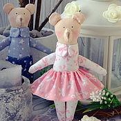 Куклы и игрушки ручной работы. Ярмарка Мастеров - ручная работа Мишки Тильда. Handmade.