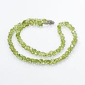 Украшения handmade. Livemaster - original item Necklace of peridot (499). Handmade.
