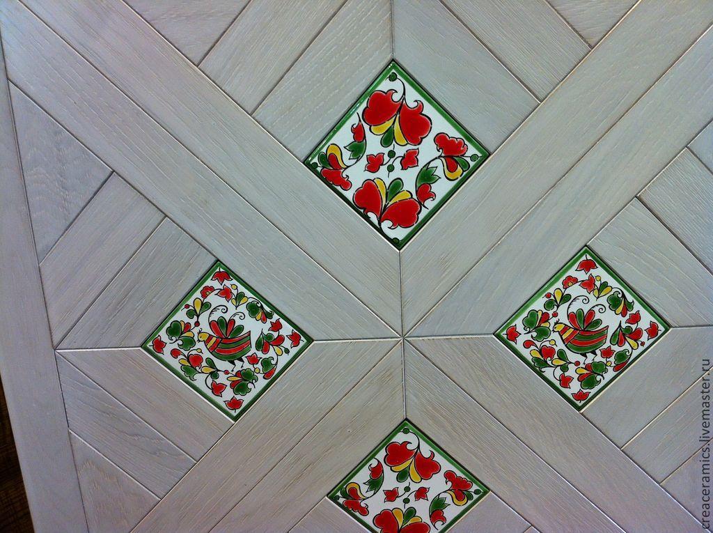 Роспись по керамической плитке своими руками мастер класс 76