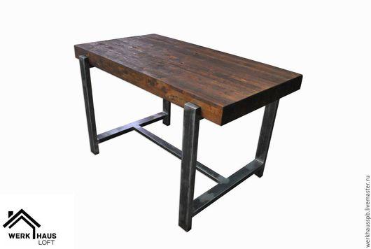 Мебель ручной работы. Ярмарка Мастеров - ручная работа. Купить Стол из бруса. Handmade. Коричневый, бук, стол, барный стол