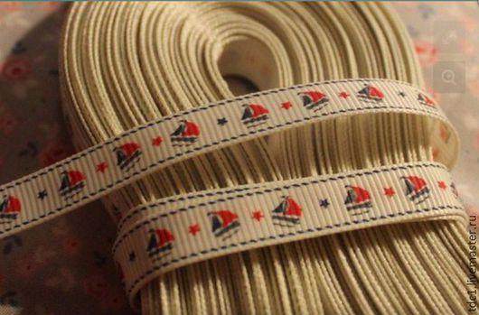 Другие виды рукоделия ручной работы. Ярмарка Мастеров - ручная работа. Купить Ленточка морская. Handmade. Комбинированный, ленточка