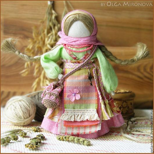 Народные куклы ручной работы. Ярмарка Мастеров - ручная работа. Купить Успешница-Удачница. Handmade. Успешница, обережная кукла, обереги