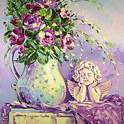 Картины и панно handmade. Livemaster - original item Oil painting on canvas. The Romance Of Provence. Handmade.