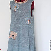Одежда handmade. Livemaster - original item Boho tunic dress.