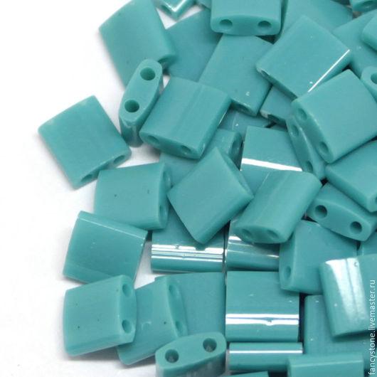Для украшений ручной работы. Ярмарка Мастеров - ручная работа. Купить TILA Miyuki Opaque Tiroquoise Green (41 Миюки Тила темная бронза 5 гр.. Handmade.