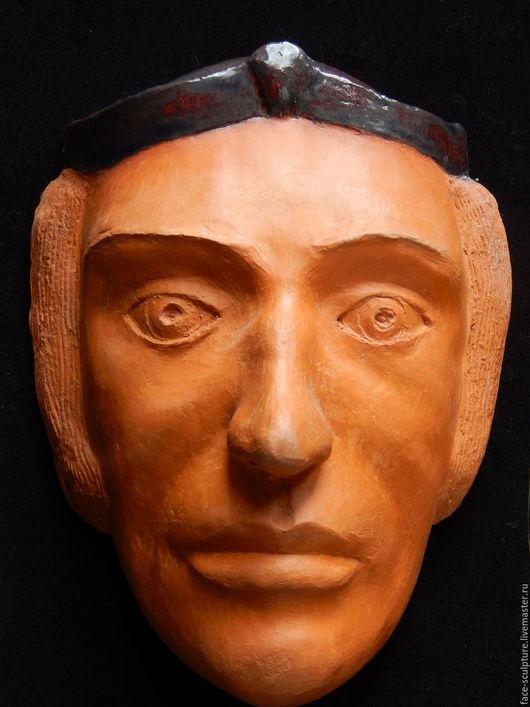 """Интерьерные  маски ручной работы. Ярмарка Мастеров - ручная работа. Купить """"Должностное лицо"""". Handmade. Терракота, скульптура, интересный подарок"""