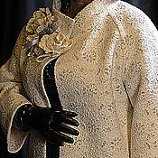 """Одежда ручной работы. Ярмарка Мастеров - ручная работа Пальто-кокон """"Кристобаль-оверсайз"""". Handmade."""