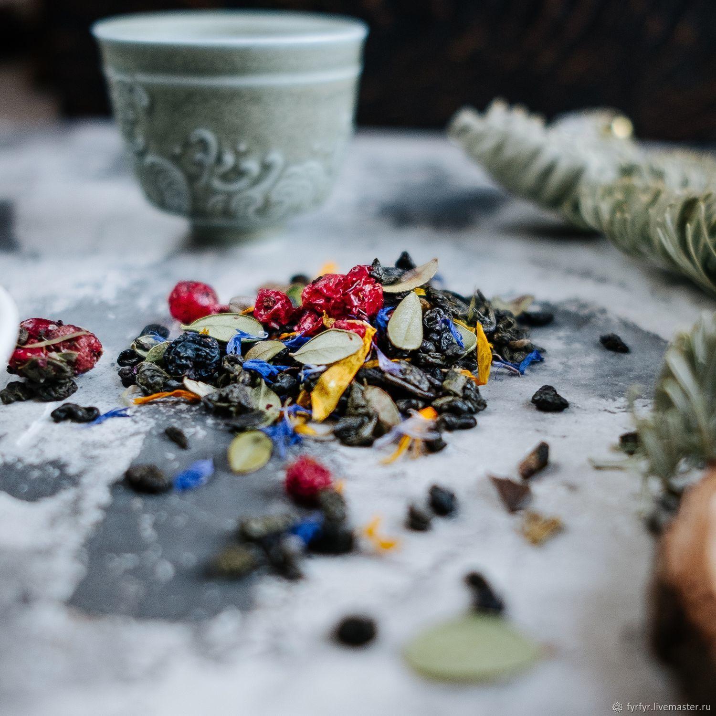 """Чёрный чай """"Таёжный сбор """"(черные типсы), Чай и кофе, Смоленск,  Фото №1"""