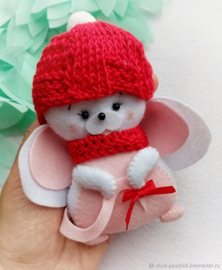 Выкройка: Новогодняя мышка из фетра символ года, Выкройки, Кострома,  Фото №1