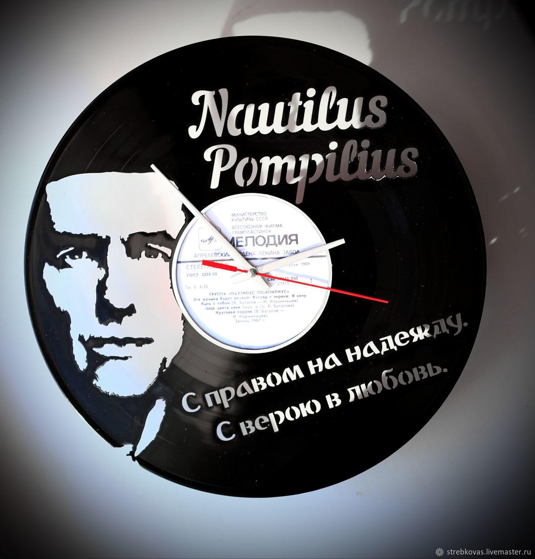 "Copy of Wall Clock ""Sektor Gaza"", Vinyl Clocks, Krasnoyarsk,  Фото №1"