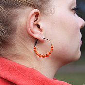 Украшения handmade. Livemaster - original item earrings. Handmade.