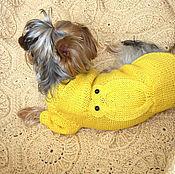 """Для домашних животных, ручной работы. Ярмарка Мастеров - ручная работа Одежда для собак,свитер для собаки,комбинезон для собаки """"Сова"""". Handmade."""