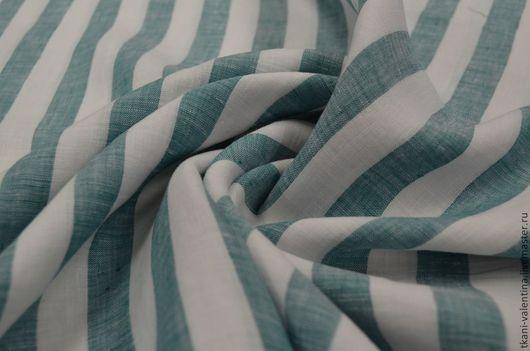 Шитье ручной работы. Ярмарка Мастеров - ручная работа. Купить Лён. Handmade. Ткань, итальянские ткани, платье, плательные ткани