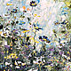 Oil painting Flower oil painting Spring lawn. Pictures. Zabaikalie. Online shopping on My Livemaster.  Фото №2
