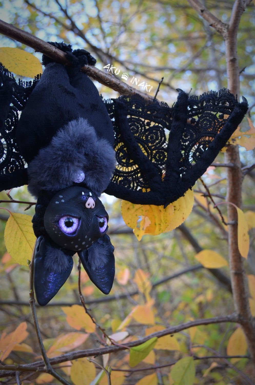 Летучая Мышь игрушка на каркасе, Мягкие игрушки, Тула,  Фото №1