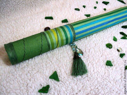 """Медитация ручной работы. Ярмарка Мастеров - ручная работа. Купить Рейнстик. Посох дождя. Дождевая флейта """"Лесной дождь"""". Handmade."""