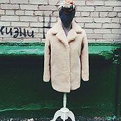 Одежда ручной работы. Ярмарка Мастеров - ручная работа Шуба из овчины на заказ. Handmade.