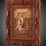Картины и панно handmade. Livemaster - original item Icon Virgin Mary The Unfading Blossom. Handmade.