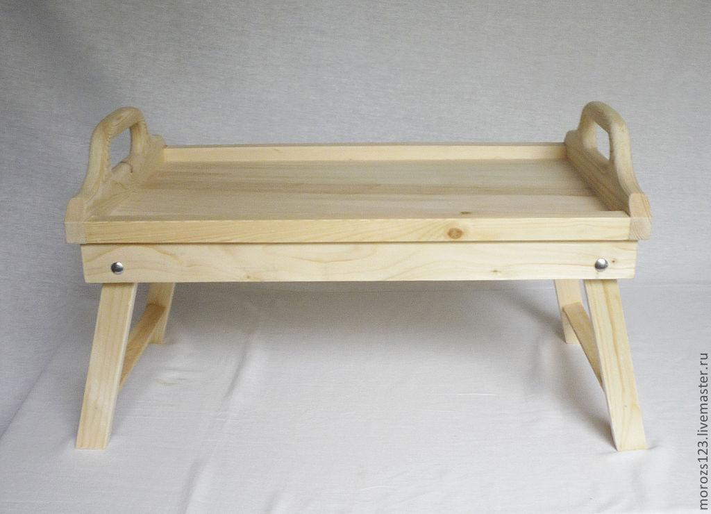 деревянные заготовки для декупажа столиков для завтрака
