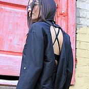 Одежда ручной работы. Ярмарка Мастеров - ручная работа Рубашка Black Zephyr. Handmade.