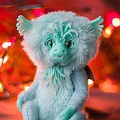 Мягкие игрушки ручной работы. Ярмарка Мастеров - ручная работа Ледяной дракон. Handmade.