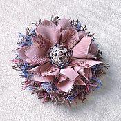 Украшения handmade. Livemaster - original item Brooch flower Nuar. Handmade.