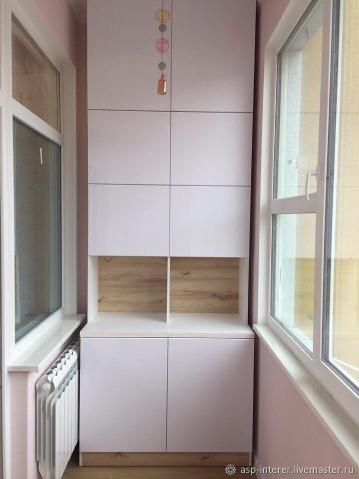 Шкаф на балкон, Шкафы, Москва,  Фото №1