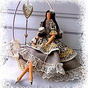 Куклы и игрушки ручной работы. Ярмарка Мастеров - ручная работа Хранительница домашнего очага. Кукла в стиле Тильда.. Handmade.