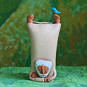 """Для дома и интерьера ручной работы. Ярмарка Мастеров - ручная работа Скульптура """"В балансе"""". Handmade."""