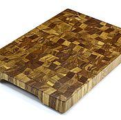 Для дома и интерьера handmade. Livemaster - original item End cutting Board №100. Handmade.