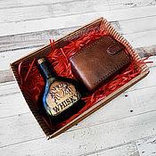 handmade. Livemaster - original item Whiskey and purse handmade soap set for men as a gift buy. Handmade.