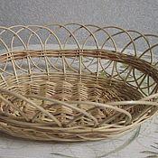 Для дома и интерьера ручной работы. Ярмарка Мастеров - ручная работа Конфетница (Сухарница) из лозы. Handmade.