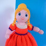 Куклы и игрушки ручной работы. Ярмарка Мастеров - ручная работа Кукла-перевертыш Золушка. вязаная кукла. Handmade.